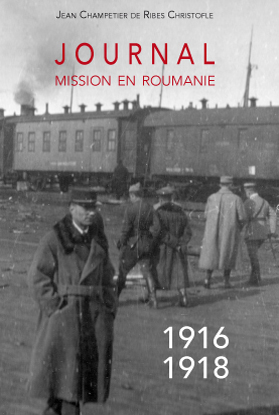 Couverture Journal Mission en Roumanie 1916 1918